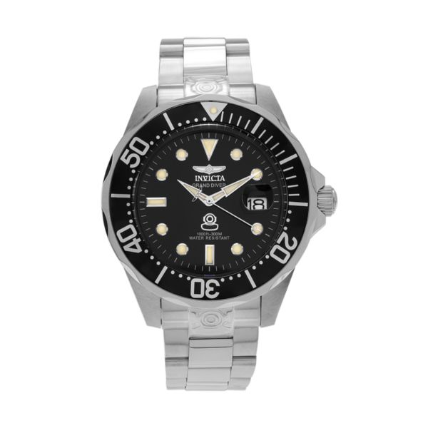 Invicta Men's Pro Diver Stainless Steel Automatic Watch
