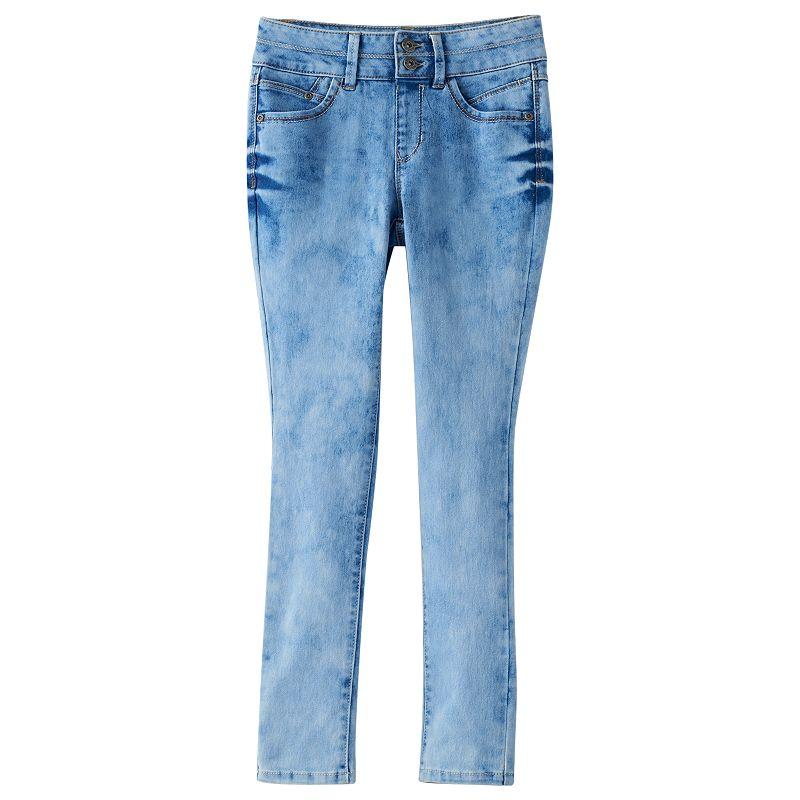 Girls 7-16 & Plus Size Mudd® Double Button High-Waist Jeggings