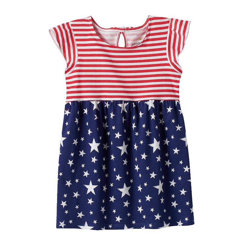 Girls 4-7 Jumping Beans® Patriotic Stars & Stripes Tunic