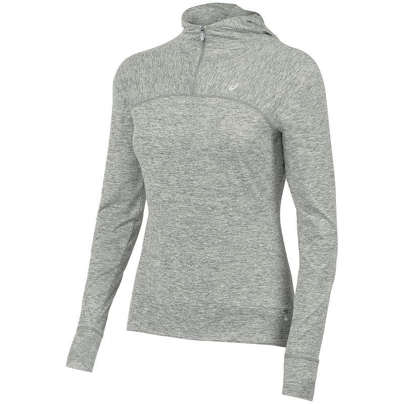Women's ASICS Ultra-Soft Lux Quarter-Zip Running Hoodie