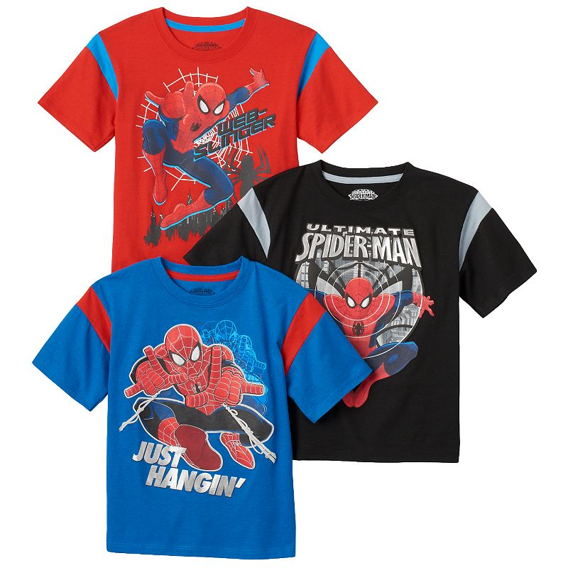 Toddler Boy 3-pk. Marvel Spider-Man Tees
