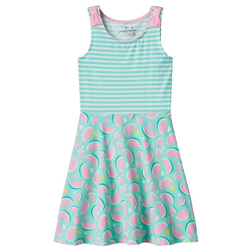 Girls 4-7 Jumping Beans® Bow-Strap Skater Dress