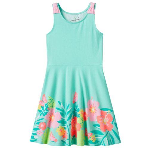 Girls 4-7 Jumping Beans® Bow-Strap Skater Dress