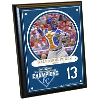 Steiner Sports Kansas City Royals Salvador Perez 2015 American League Champions Salvador Perez Plaque