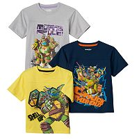 Boys 4-7 3-pk. Teenage Mutant Ninja Turtles Tees