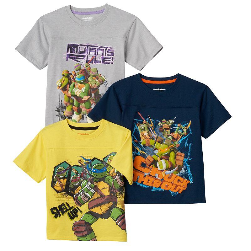 Boys 4-7 3-pk. Teenage Mutant Ninja Turtles Tees