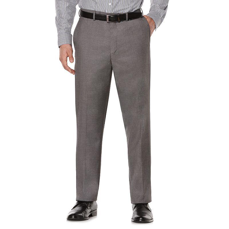 Men's Savane Premium Flex Tailored-Fit No-Iron Dress Pants