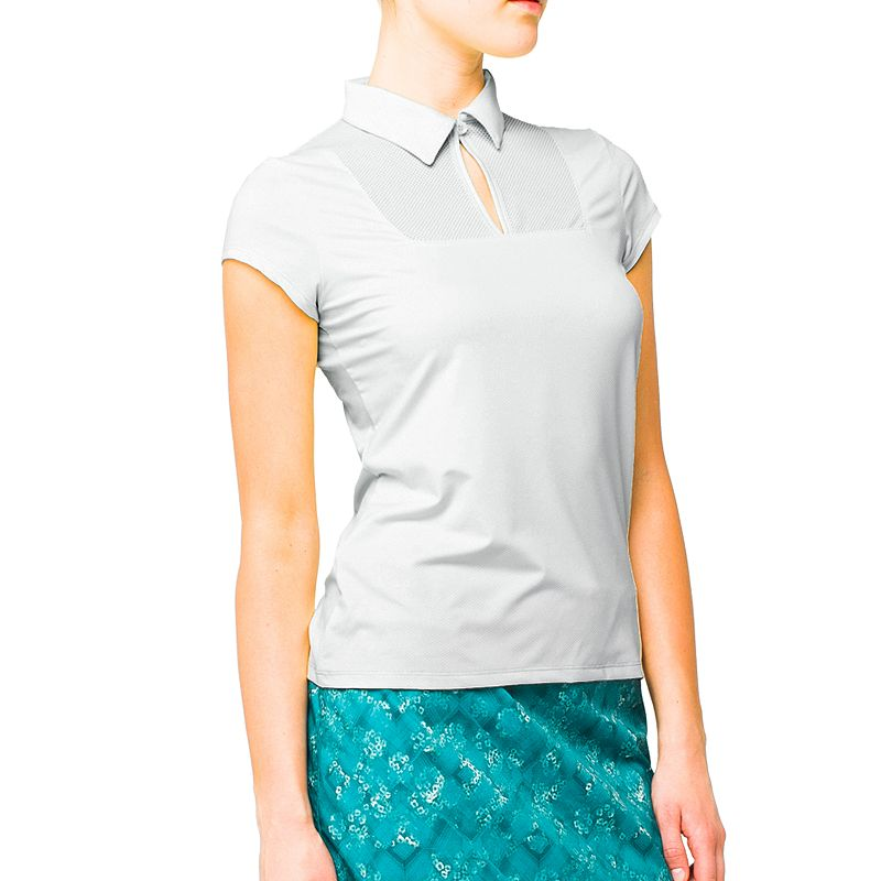 LIJA Groove Mesh Golf Polo - Women's