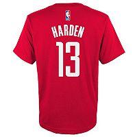 Boys 8-20 adidas Houston Rockets James Harden Player Tee
