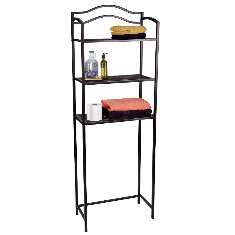 Household Essentials Over-The-Toilet 3-Tier Rack