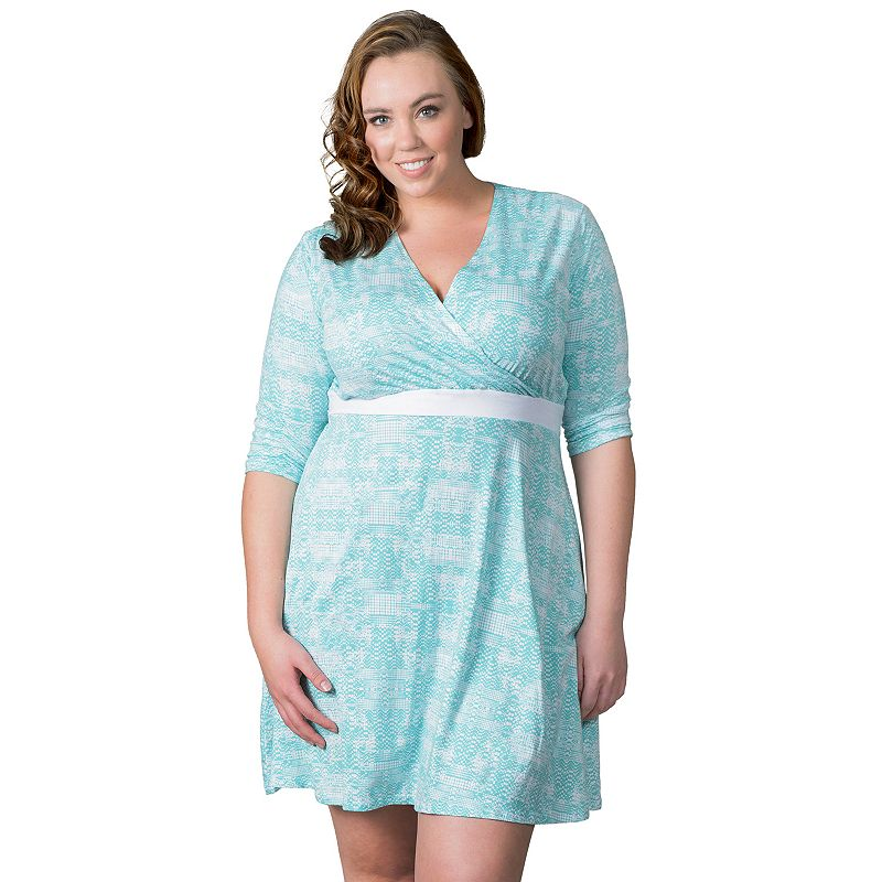 Plus Size Soybu Clara Wrap Dress