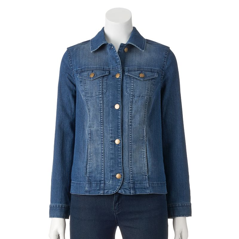 Women's Croft & Barrow® Jean Jacket