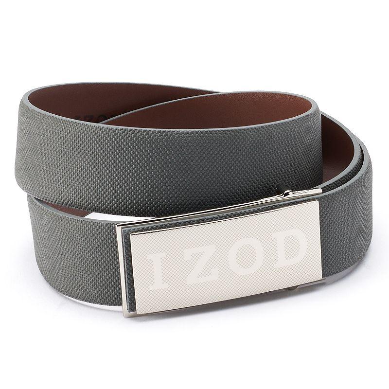Men's IZOD Logo Plaque Golf Belt