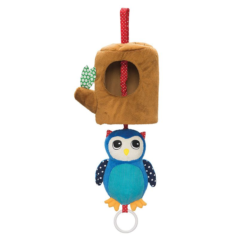 Manhattan Toy Lullaby Owl Pull Musical Toy