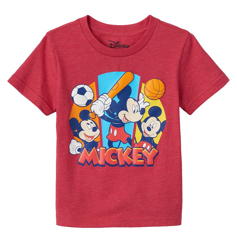 Disney's Mickey Mouse Sporty Toddler Boy Tee