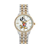 Disney's Mickey Mouse Men's Crystal Watch