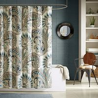 INK+IVY Mira Printed Shower Curtain