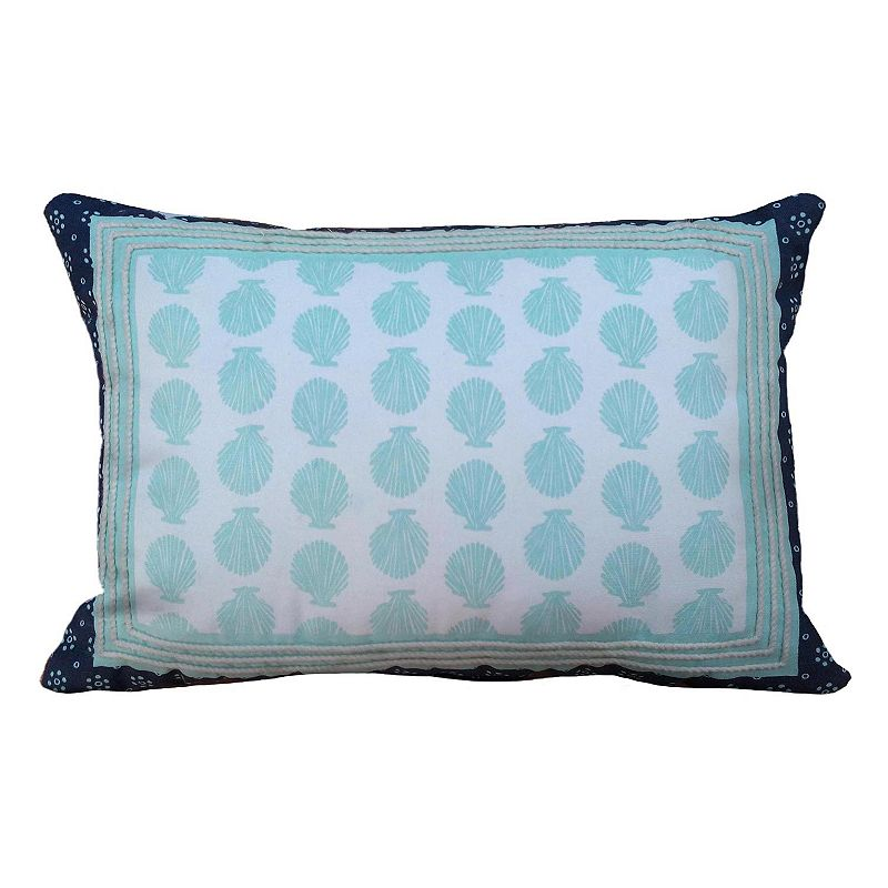 Kohls Nautical Throw Pillows : Blue Cotton Coastal Throw Pillow Kohl s