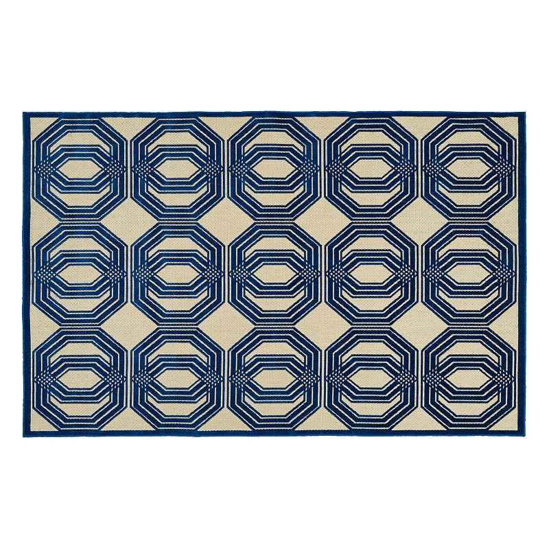 Kaleen Five Seasons Mod Geometric Indoor Outdoor Rug