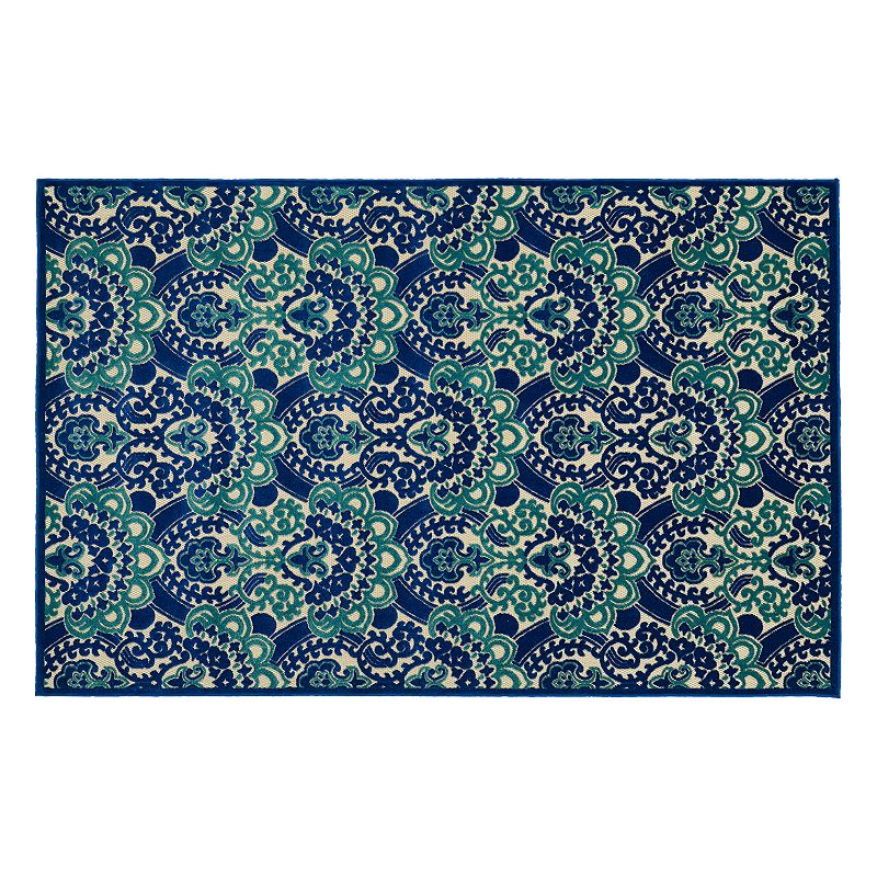 Kaleen Five Seasons Bloom Floral Indoor Outdoor Rug