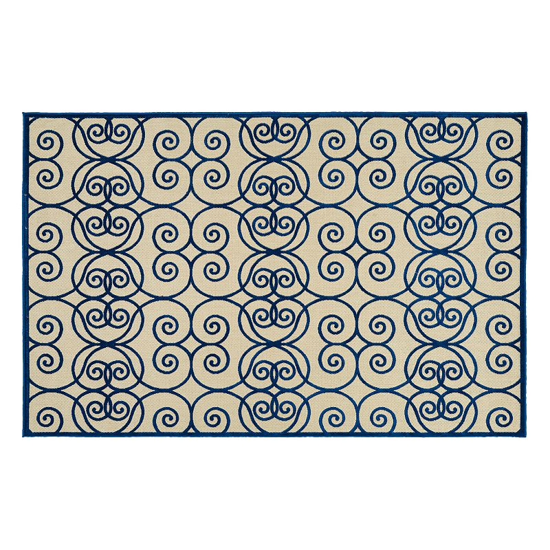Kaleen Five Seasons Scroll Indoor Outdoor Rug