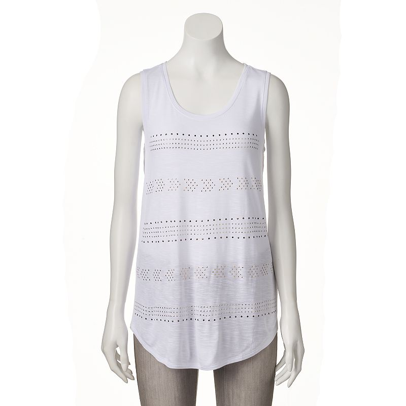 Women's Apt. 9® Studded Tunic Tank
