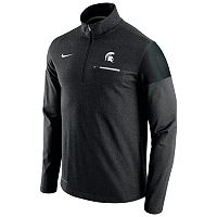 Men's Nike Michigan State Spartans Elite Coaches Dri-FIT Pullover