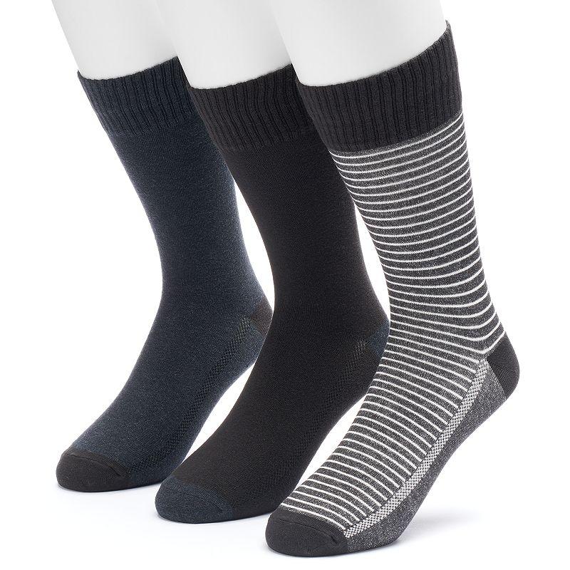 Men's Levi's 3-pack Vintage Striped & Solid Fashion Socks