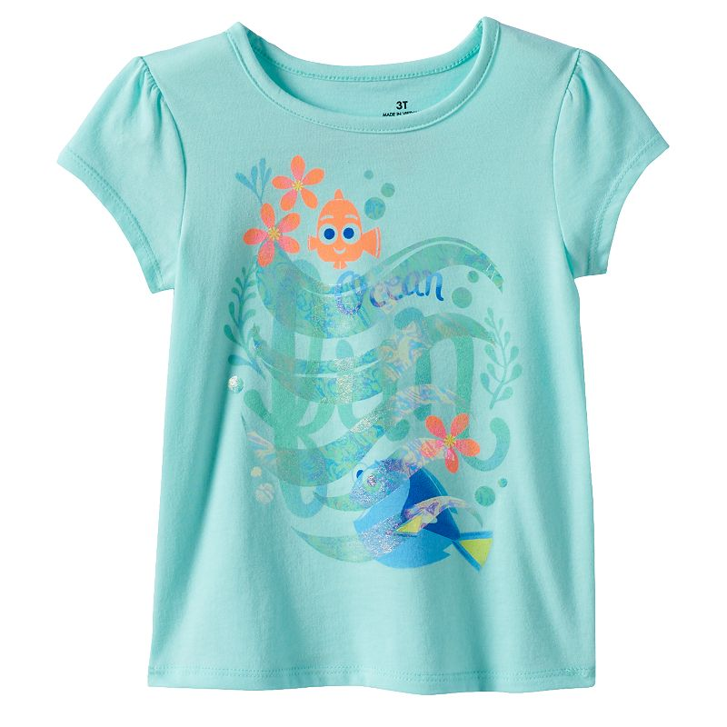 Disney / Pixar Finding Dory Toddler Girl Puff-Sleeve Tee by Jumping Beans®