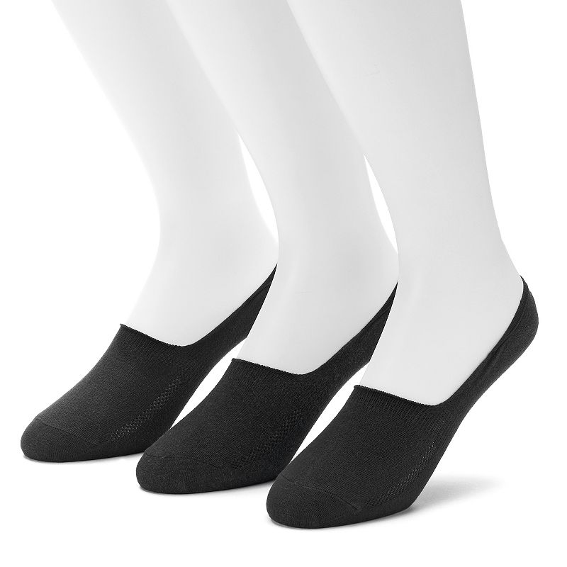 Men's Levi's 3-pack Core Solid No-Show Socks