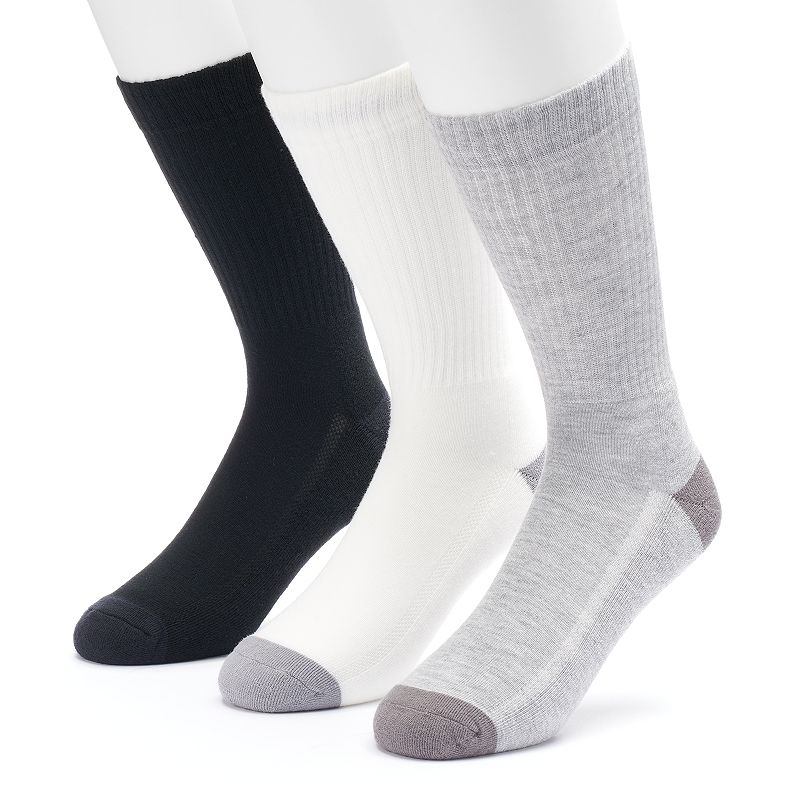 Men's Levi's 3-pack Core Solid Crew Socks