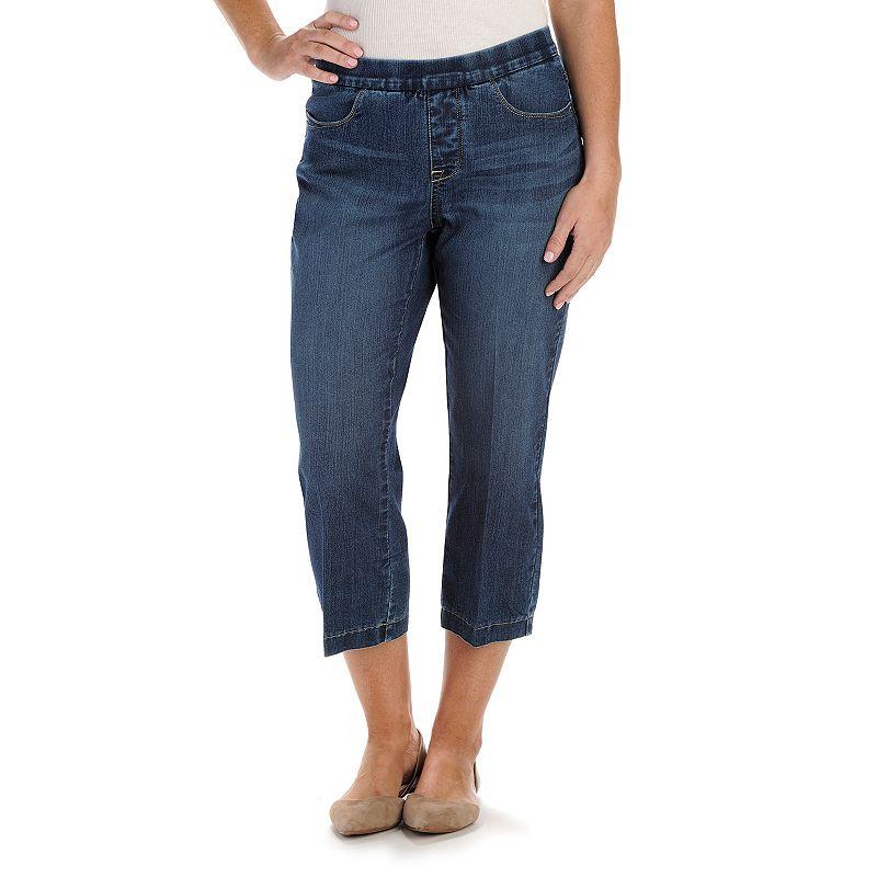 Petite Lee Khloe Natural Fit Capri Jeans