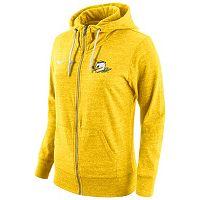 Women's Nike Oregon Ducks Gym Vintage Fleece Hoodie