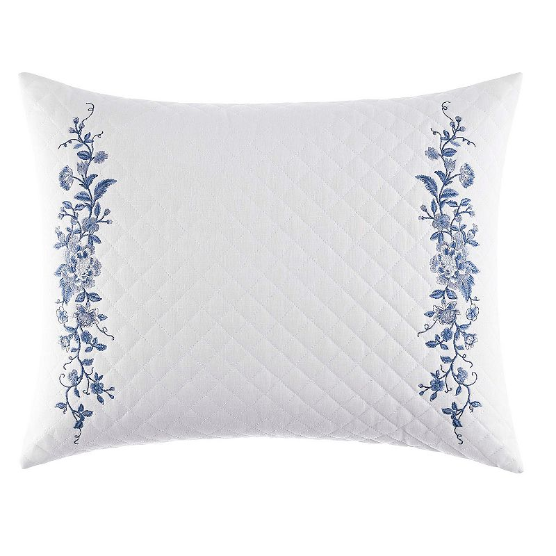 Laura Ashley Lifestyles Charlotte Quilted Throw Pillow