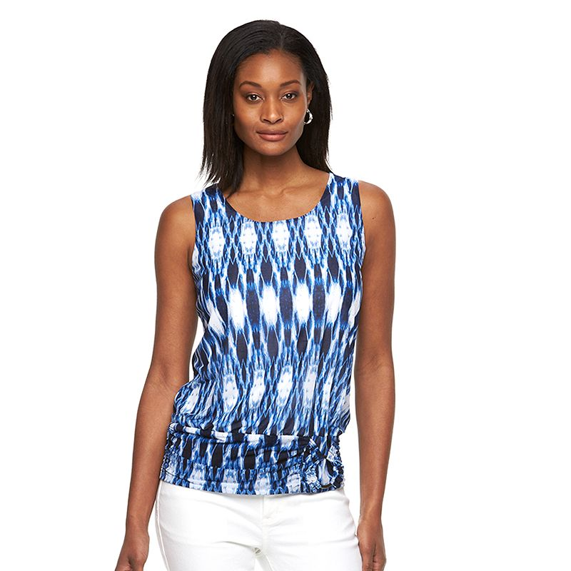 Women's AB Studio Abstract Banded Tank