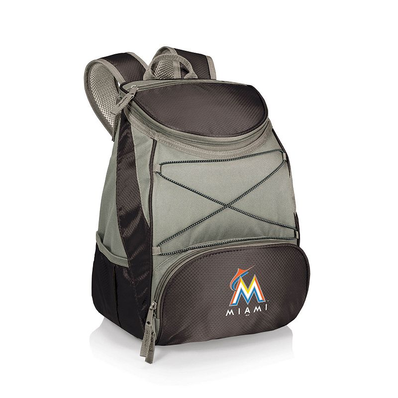 Picnic Time Miami Marlins PTX Backpack Cooler