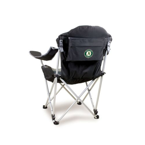 Picnic Time Oakland Athletics Reclining Camp Chair