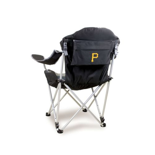 Picnic Time Pittsburgh Pirates Reclining Camp Chair