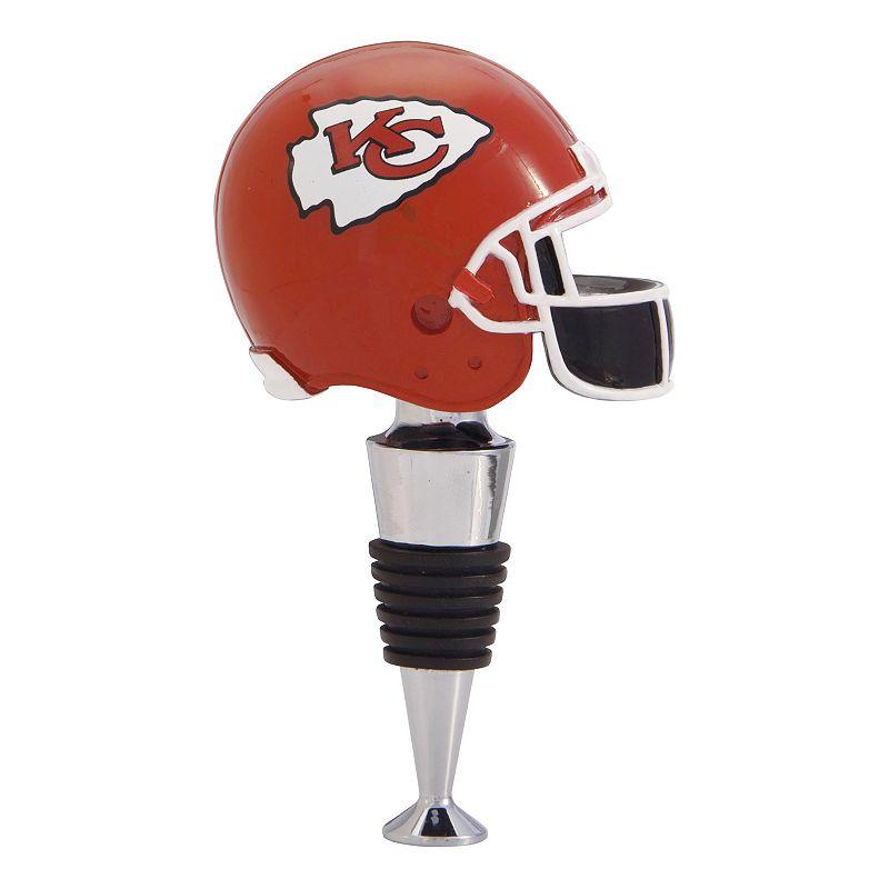 Kansas City Chiefs Helmet Bottle Stopper