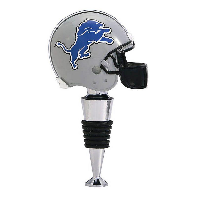 Detroit Lions Helmet Bottle Stopper