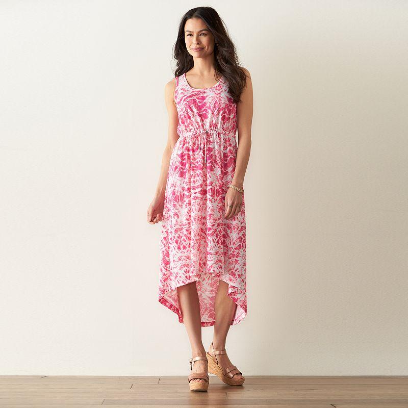 Petite SONOMA Goods for Life™ Linen-Blend Midi Dress