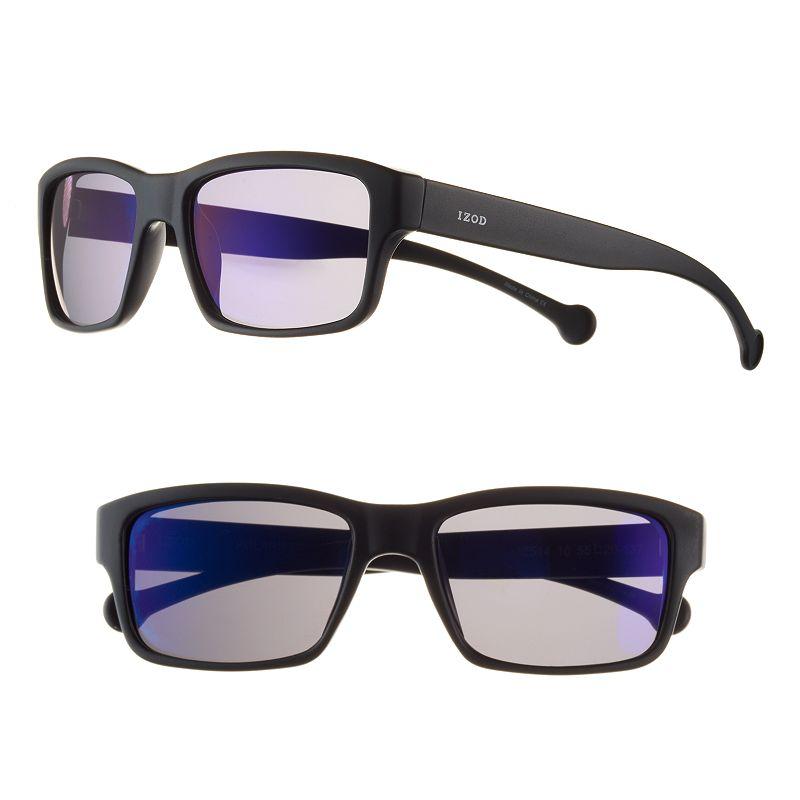 Men's IZOD Polarized Rectangular Sunglasses