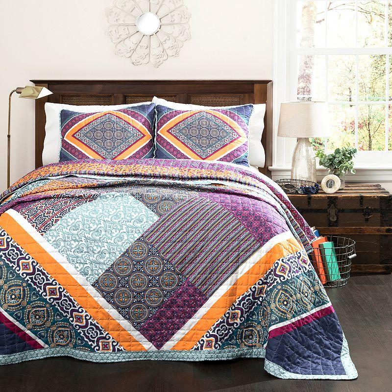 Lush Decor Abbie 3-piece Quilt Set