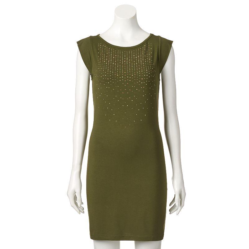 Women's Apt. 9® Embellished T-Shirt Dress