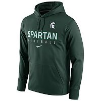 Men's Nike Michigan State Spartans Circuit Performance Hoodie