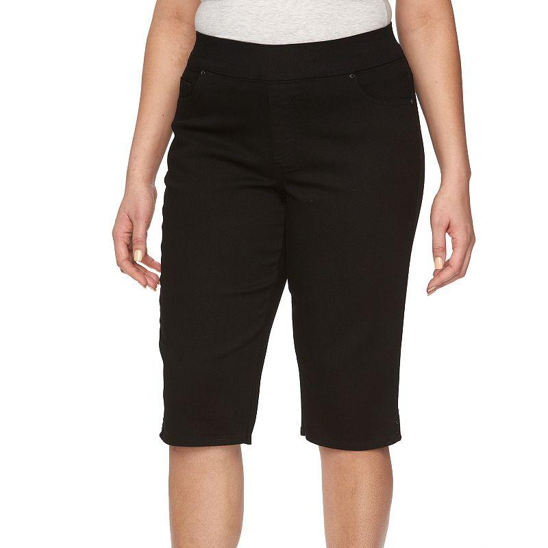 Plus Size Gloria Vanderbilt Avery Pull-On Skimmer Capris