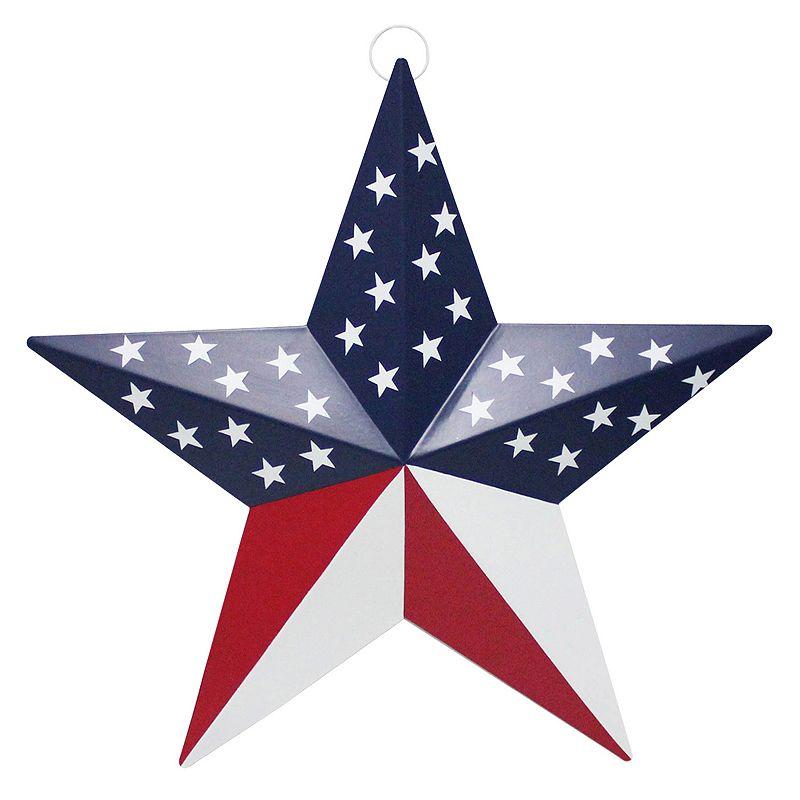 Celebrate Americana Together Metal Star Wall Decor