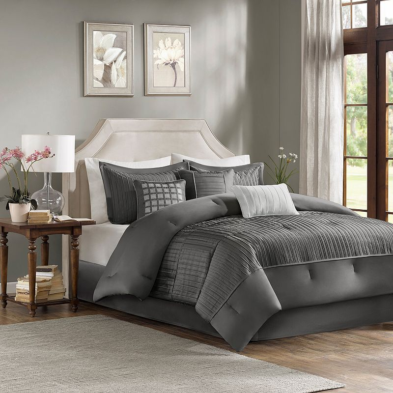 Madison Park Curtis 7-piece Bed Set