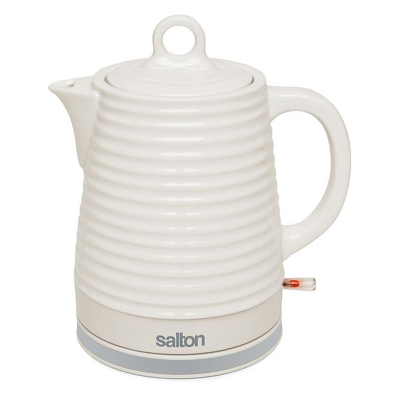 Salton 1.2-Liter Ceramic Electric Teakettle