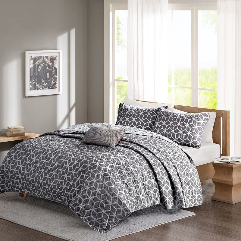 Madison Park Pure Andrea 5-piece Bed Set